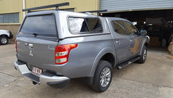 TRADIE SMOOTH CANOPY TO SUIT MQ TRITON DUAL CAB 2015