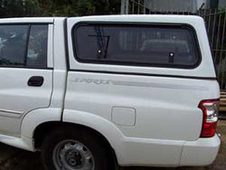 TRADIE TEXTURED CANOPY TO SUIT SSANGYONG MUSSO DUAL CAB 2005-2009