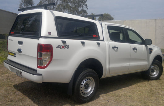 TRADIE TEXTURED CANOPY TO SUIT FORD RANGER DUAL CAB 2012+