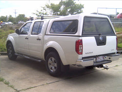 TRADIE TEXTURED CANOPY TO SUIT NISSAN D40 DUAL CAB 2005-2014