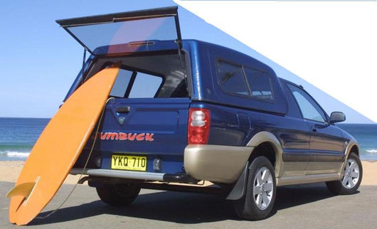 TRADIE TEXTURED CANOPY TO SUIT PROTON JUMBUCK SINGLE CAB