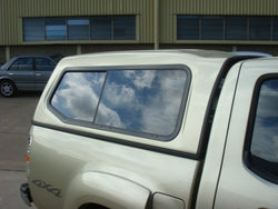 TRADIE SMOOTH CANOPY TO SUIT BT50 DUAL CAB 2007-2012