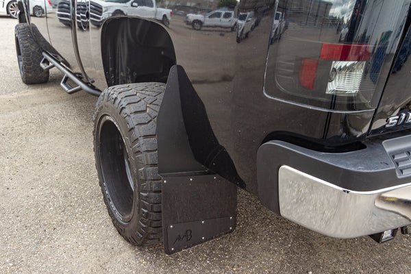 Standard Height Kickback Mud Flaps