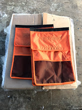 Replacement Shoe Bags - Orange (Sold as pair)