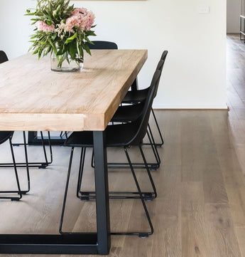 Soho Reclaimed Elm Dining Table 2.4 Meter