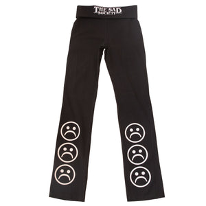 Sad Society Sad Face Yoga Pants