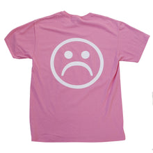 Sad Society™ Sad Face™ Fuchsia T Shirt