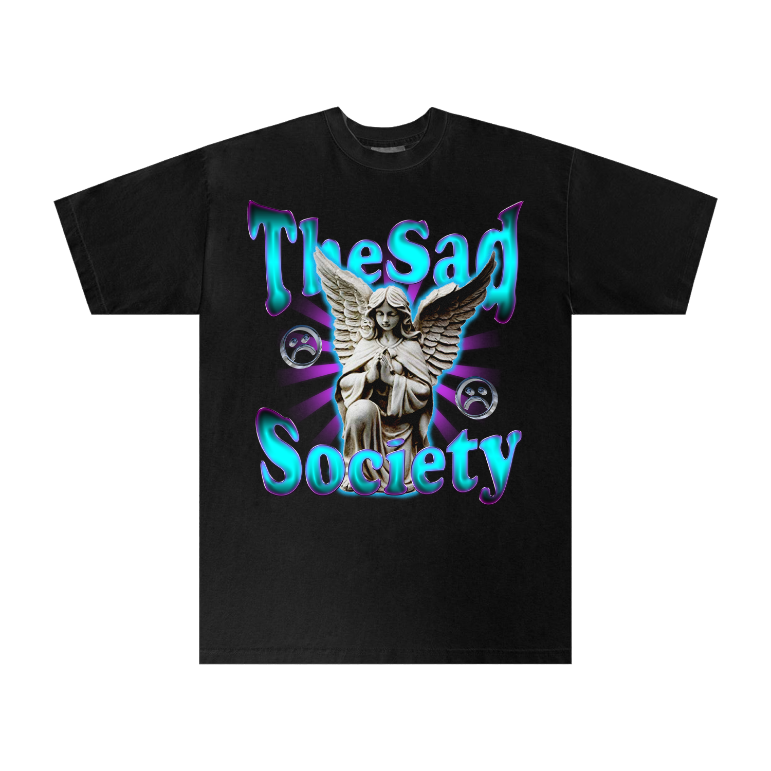 The Sad Society™ TSS PV BLACK T Shirt