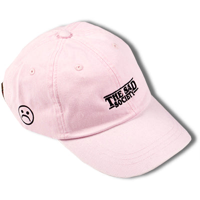 The Sad Society Bogo Pink Dad Hat