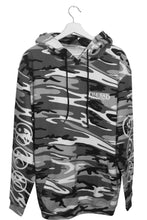 The Sad Society Camo Black/White Hoodie