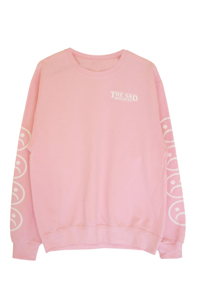 Sad Society Pink Sweatshirt