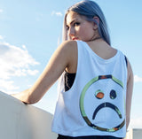 The Sad Society Sad Girl Crop Top