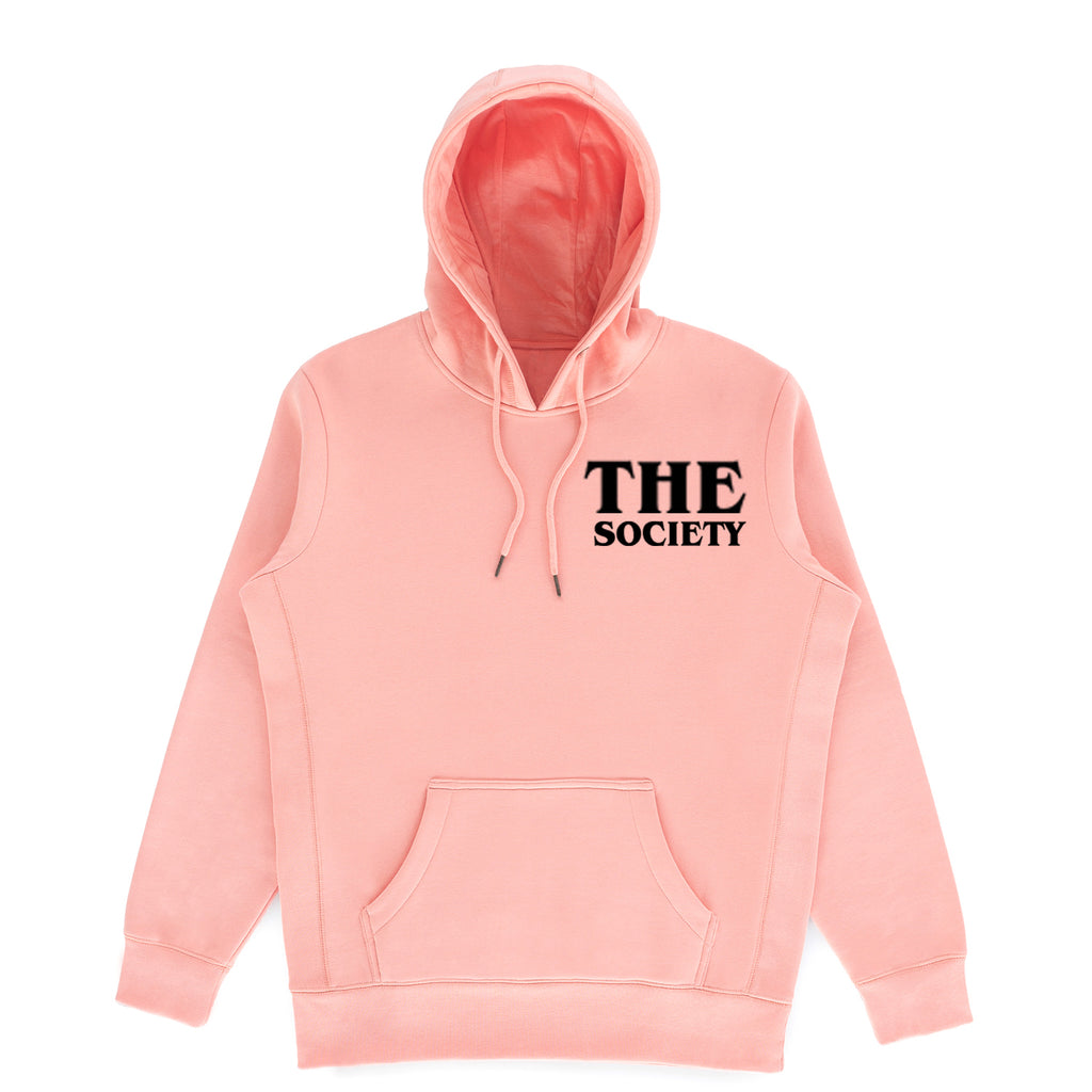 The Society Organic Salmon Hoodie