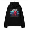 The Sad Society™ PARANOID BLACK HOODIE