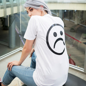 Sad Society™ White T Shirt