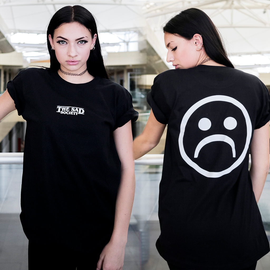The Sad Society™ Center Bogo Black T Shirt