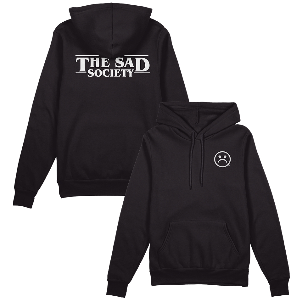 The Sad Society Legend Black Hoodie