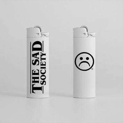 Sad Society White Lighter