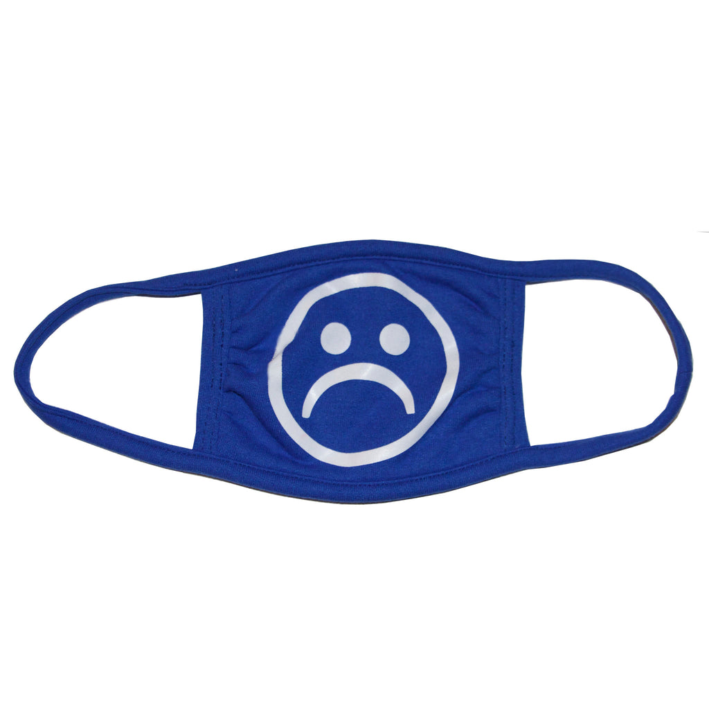 Sad Society Navy Blue mask