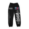 The Sad Society Black Paranoid SweatPants