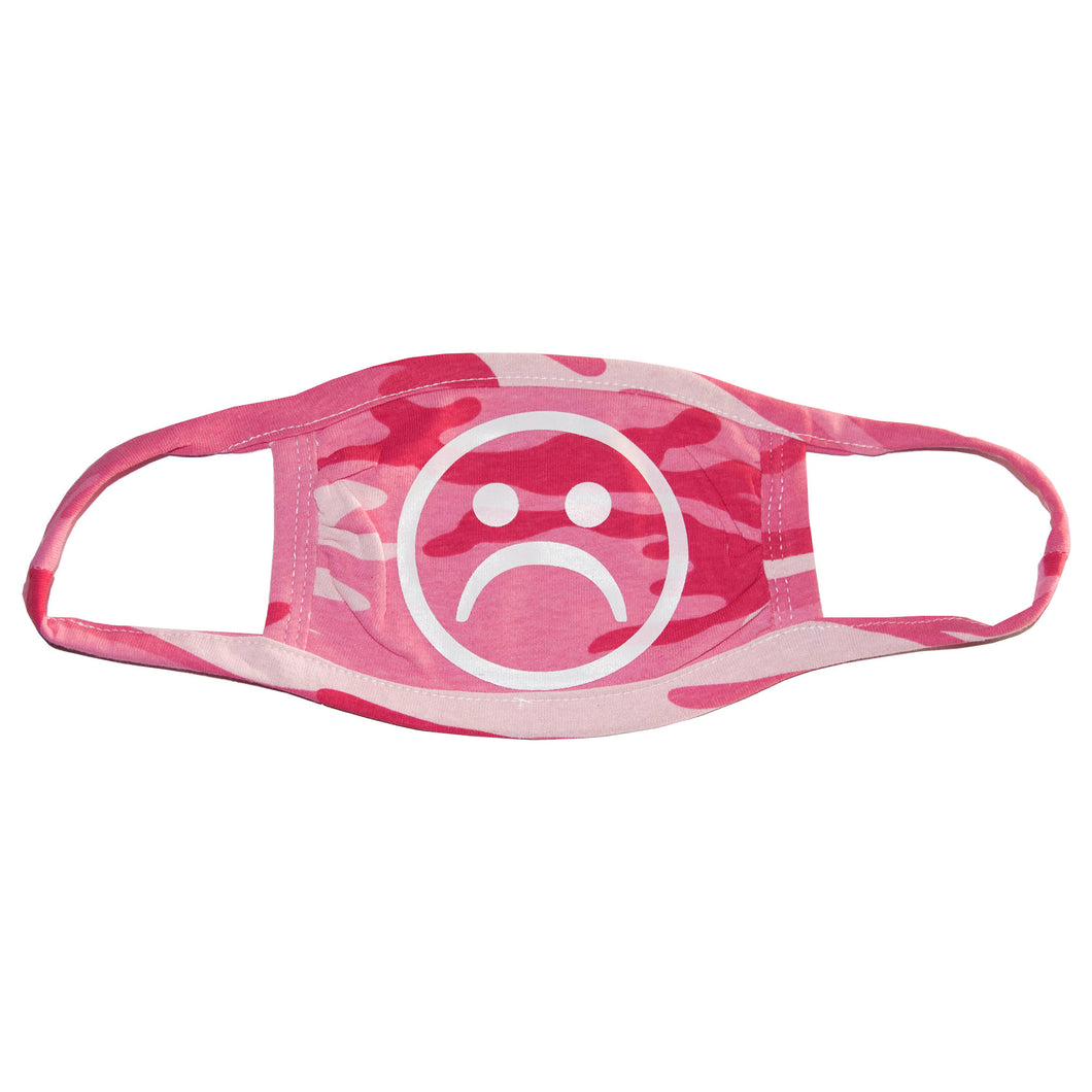 Sad Society Pink Camo Mask