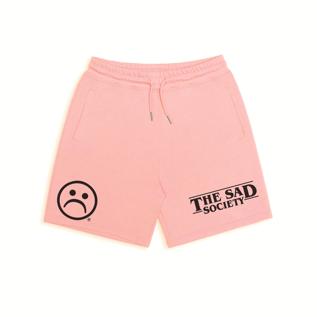 The Sad Society Salmon Organic Sweatshorts