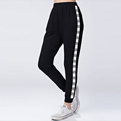 The Sad Society Sad Face Strap Track Pant