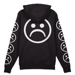 The Sad Society Sad Face Back Sleeved Hoodie