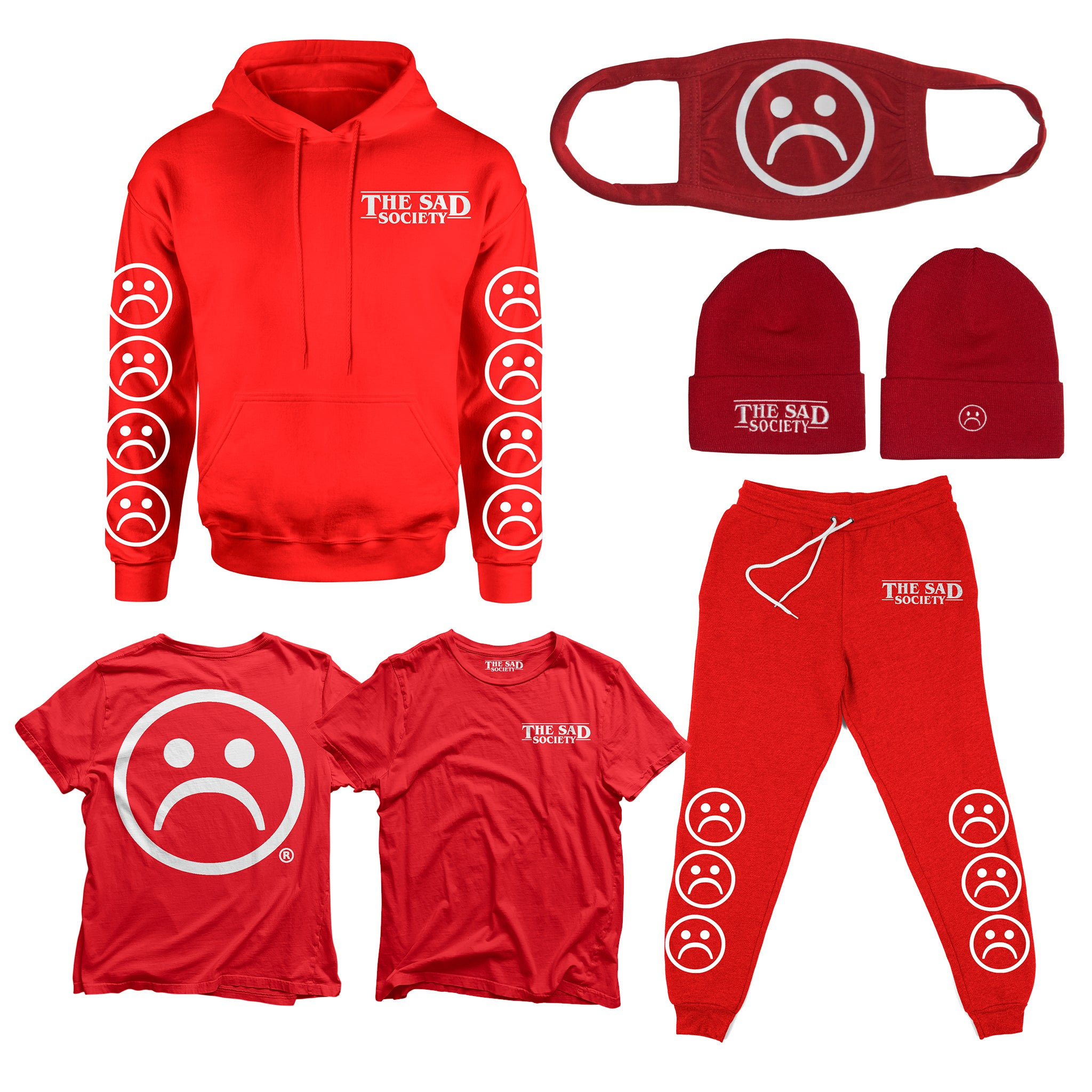The Sad Society Red Bundle