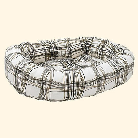Dog Bed - Bowsers Diamond Series Microvelvet Donut Dog Bed