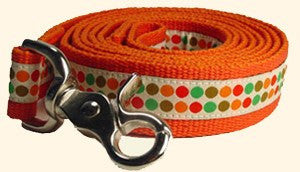 Dog Lead - GEORGE Dotty Ribbon Dog Lead