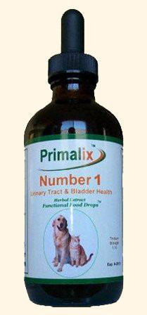 Pet Supplement - Primalix 1 For Pet's Urinary Tract Infection Treatment