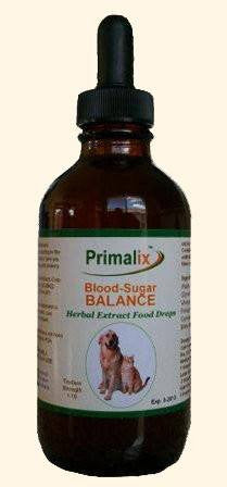 Pet Supplement - Primalix Blood-Sugar Balance For Pet Diabetes