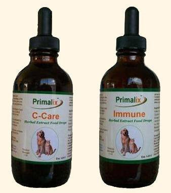 Pet Supplement - Primalix Cancer-Care & Immune Combo For Pets Cancer Treatment