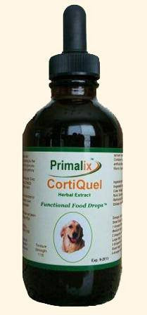 Pet Supplement - Primalix CortiQuel For Cushings In Dogs