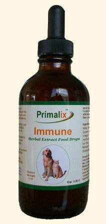 Pet Supplement - Primalix Immune Herbal Extract