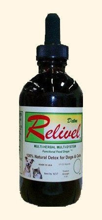 Pet Supplement - Relivel Multi-Herbal Liquid Detox