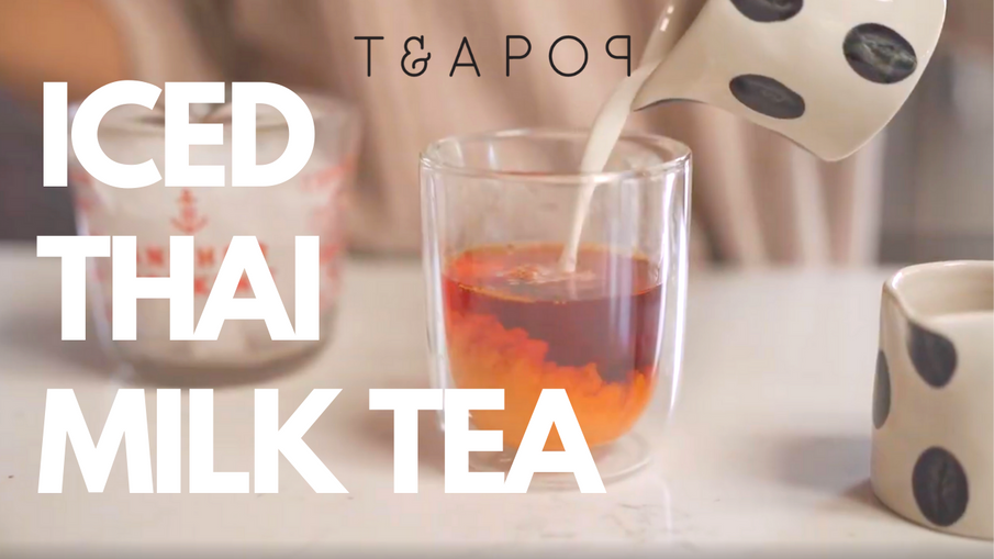 Teapop Basics: Iced Thai Milk Tea