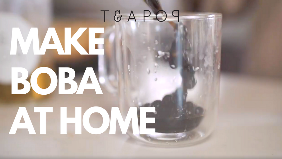 Teapop Basics: Make Boba At Home