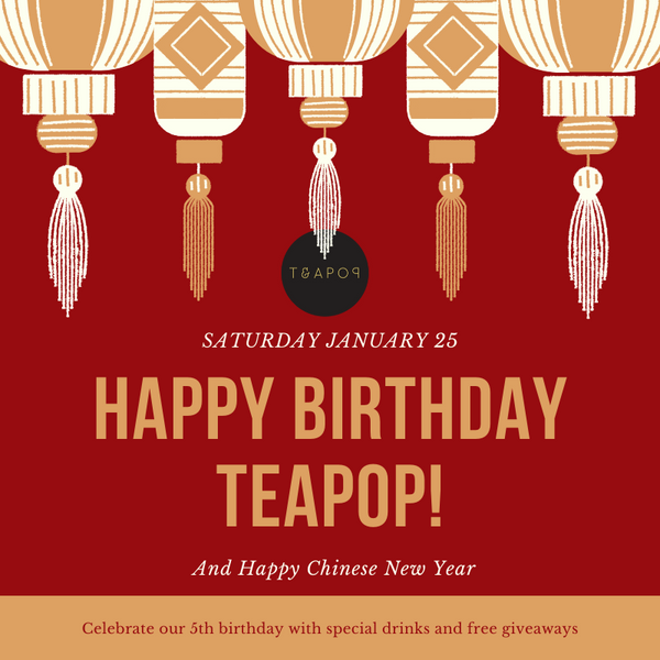 HAPPY BIRTHDAY TEAPOP January 25th