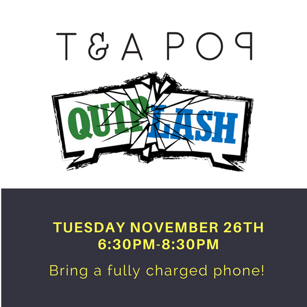 Quiplash Game Night at Teapop NOHO!