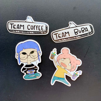 Teapop Stickers