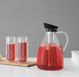 Glass Iced Tea Carafe