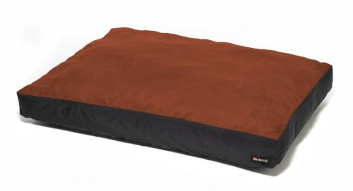 Original Washable Dog Bed - Paprika - a burnt orangey-red