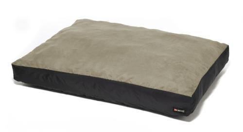 Original Washable Dog Bed - Stone - a light grey with the slightest bit of sage green it