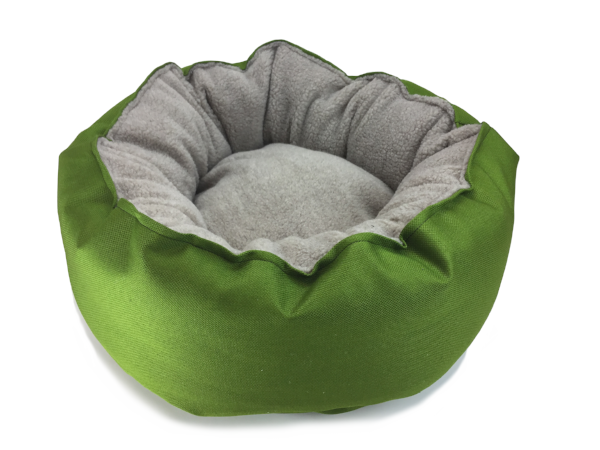 Catalina Plush in Lime (washable and dryable polyester canvas)