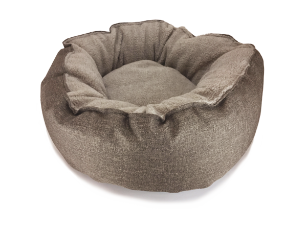 Catalina Plush in Mocha (washable and dryable polyester canvas)