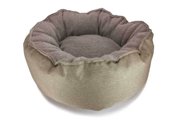 Catalina Plush in Sand (washable and dryable polyester canvas)