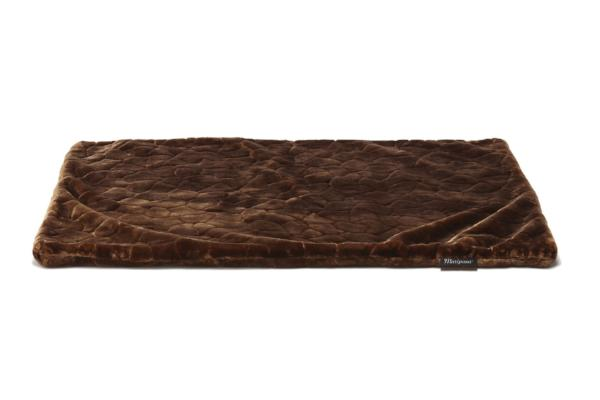 Brown - tortoise shell pattern in heavy, plush faux fur