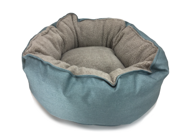 Catalina Plush in Robin Egg (washable and dryable polyester canvas)